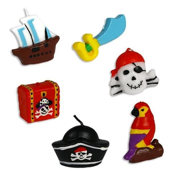 Www Party Schatzkiste De Piratenkerzen Piraten Tortenkerzen