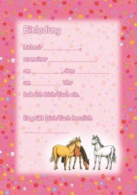 Pferde Einladungskarten U2013 Ledeclairage, Einladungs