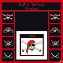8 Piraten Mini Tattoos