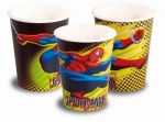 8 Spiderman Becher