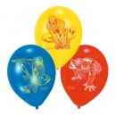 6 Spiderman Luftballons